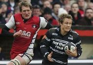 Jonny Wilkinson and James Forrester