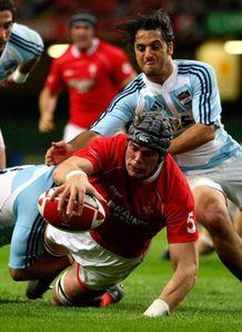 Wales Argentina Alun-Wyn Jones