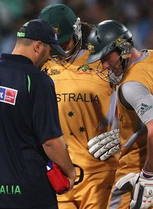Hussey blow for Australia