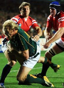 SChalk Burger try v USA
