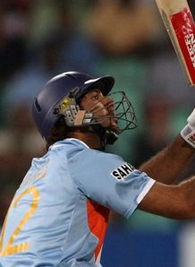 England stunned by Yuvraj