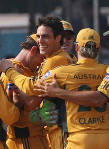 Awesome Aussies crush India