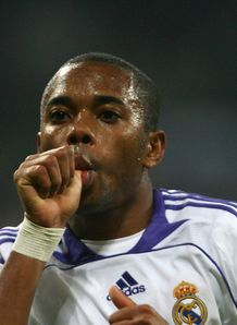 Robinho remains in Real plans