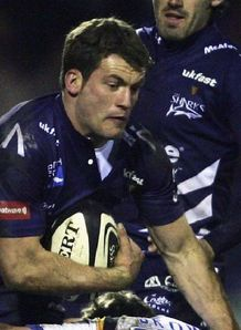 Mark Cueto in the Challenge Cup