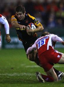 Olly Morgan Richard Mustoe Gloucester Dragons