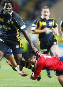 Paul Sackey v Munster