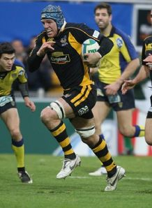 James Haskell of London Wasps v Clermont in Heineken Cup