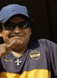 Maradona open to job offer