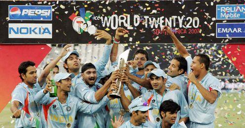 India: Inaugural champions