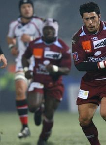 Bourgoin race away to score against Ulster in HEC