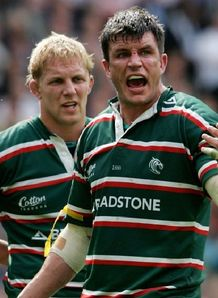 Martin Corry Lewis Moody Leicester