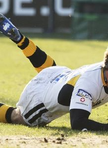 Danny Cipriani Wasps try score