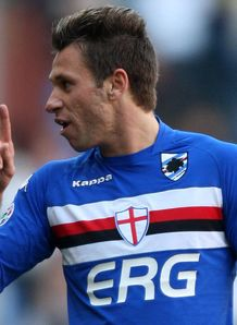 Elección de libres durante la semana Sampdoria_Antonio_Cassano_669718