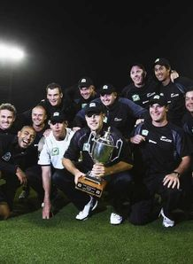 New Zealand clinch series