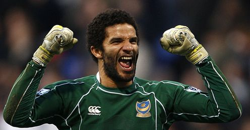 David James: could be set for an FA Cup hat-trick, of sorts