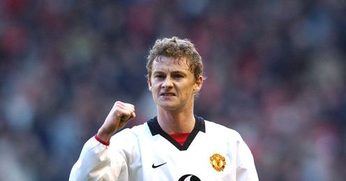 Solskjaer: scored the first Premier League hat-trick by a substitute