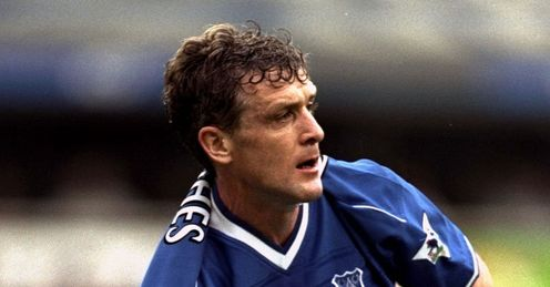 Hughes: read on to see what's unique about his time at Everton...