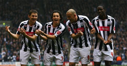 West Brom: in the swing