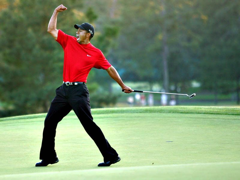 Tiger Woods. Women of Augusta, consider this your official warning.