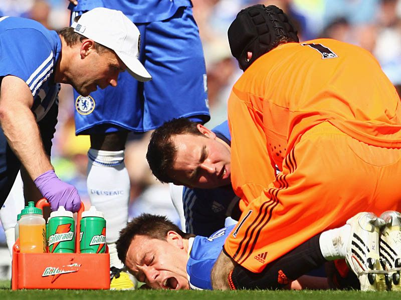 John Terry Injury