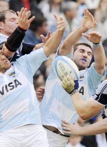 Argentina v Scotland stock
