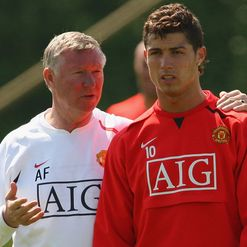 Ferguson doesn't think Ronaldo will return.
