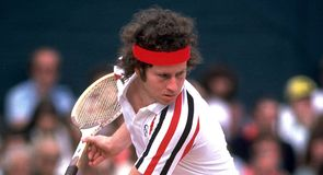 McEnroe: seven Grand Slam titles