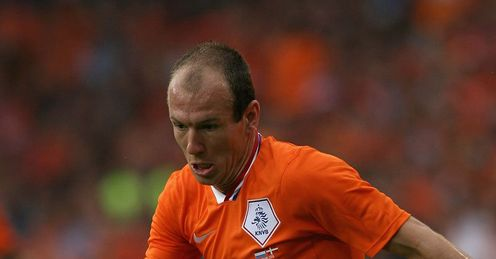 Robben: Seals Dutch progress