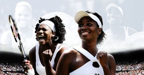 Serena and Venus meet on Saturday.