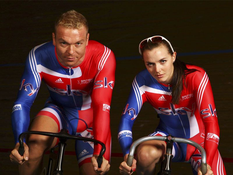 Olympic hopefuls Chris Hoy and Victoria Pendleton