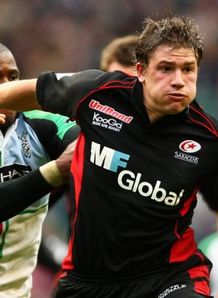 Saracens Adam Powell against Quins
