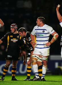 Bath celebrate v Wasps