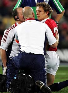 Johnny Wilkinson injury 2005 British Irish Lions New Zealand