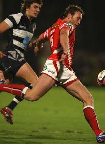Morgan Stoddart Scarlets v Bristol 2008