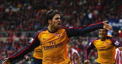 Cesc Fabregas Arsenal Sunderland Premier League