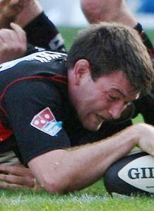 MIchael Owen touches down