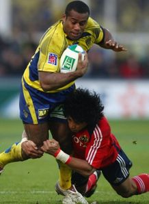 Seremaia Bai for Clermont v Munster in HEC