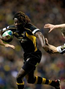 Paul Sackey in top form for Wasps