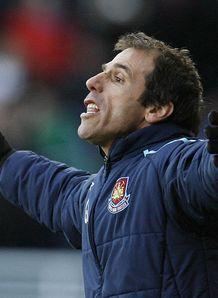 West Ham v Fulham Gianfranco Zola