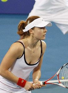 Alize Cornet See Through Top