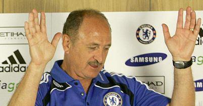 Luiz Felipe Scolari Chelsea press