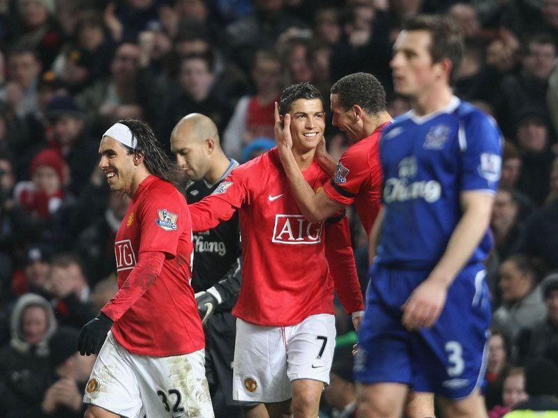 Manchester United Everton Premier League Cristiano Ronaldo