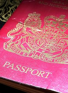 British passport generic
