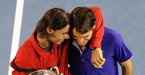 Nadal and Federer: masterclass