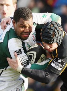 Armitage tackles Cipriani