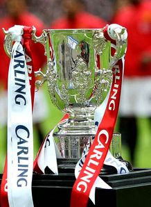 Carling Cup third-round draw