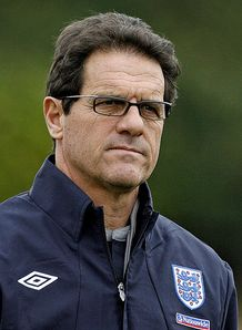 Is Capello set to switch to a three-man defence?