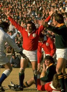 lions 1974 Gareth Edwards South Africa
