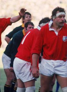 lions Bill Beaumont 1980 South Africa Springboks
