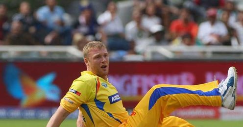 Flintoff: Picked up injury during IPL